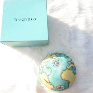 Tiffany & Co Tauck World Discovery Trinket Box